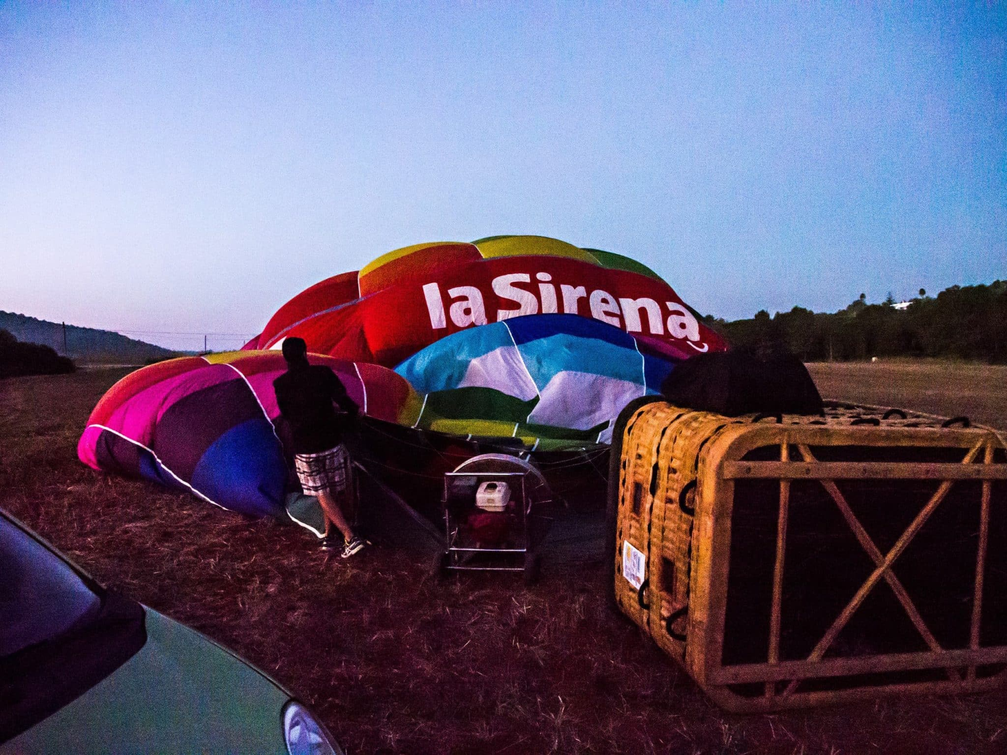 balloon ride Ibiza