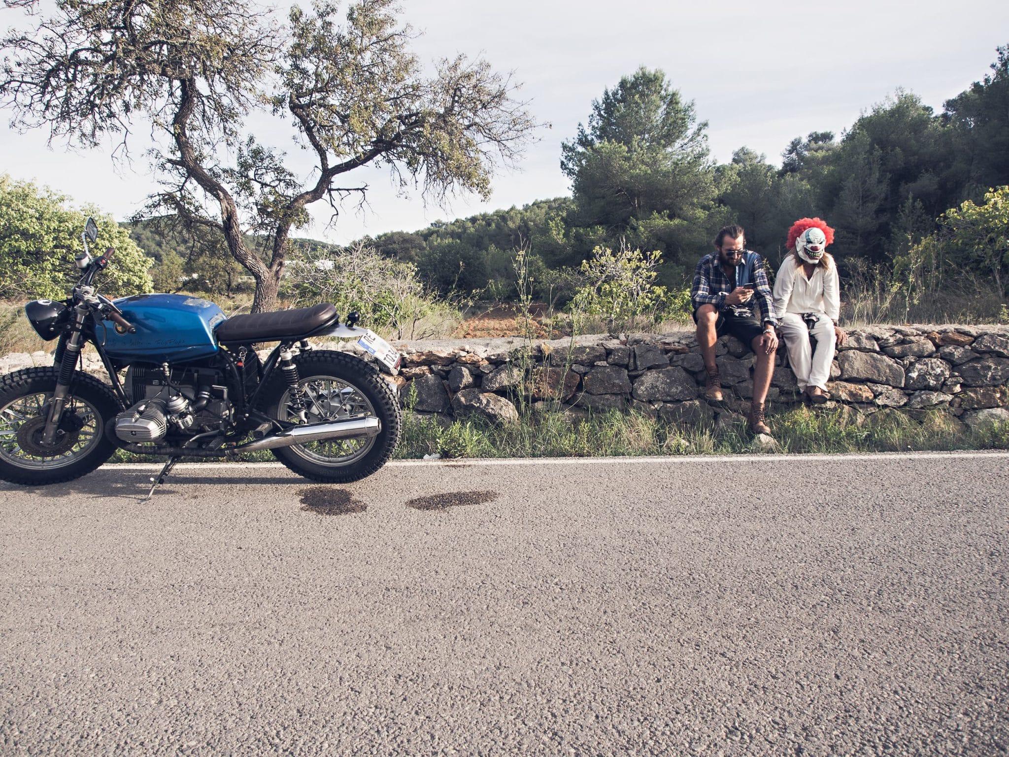 Ride through the Campo